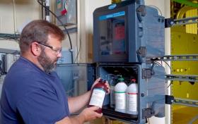 線上水中氨氮/一氯胺分析儀 5500sc系列 Ammonia Monochloramine Analyzer