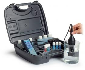 Sension+系列 可攜式多參數測試主機與 pH, 導電度, 溶氧電極 Portable Multi Meter Kit for pH, Conductivity and Dissolved Oxygen