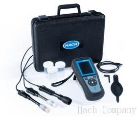 攜帶式pH, 導電度, 溶氧分析儀 HQ4300 Portable Multi-Meter with Gel pH, Conductivity, and Dissolved Oxygen Electrode, 1 m or 5 m Cable