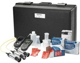 攜帶型水中溶氧/pH/導電度/TDS/鹽度檢測儀 HQ40d系列 Advanced Portable Meter Package- Rugged DO/pH/Conductivity/TDS/Salinity Field Kit