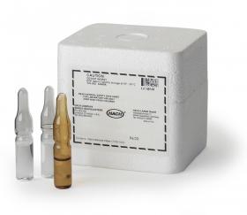六價鉻標準液 Chromium, Hexavalent, Standard Solution, 5 mg/L as Cr6+ (NIST), pk/20 - 2-mL PourRite™ Ampule