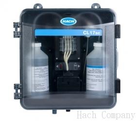 線上總氯分析儀 CL17sc Colorimetric Chlorine Analyzer with Standpipe Installation Kit and Reagents for Total Chlorine