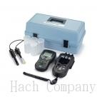 攜帶式pH計/導電度計/TDS測試儀 HQ40D Portable pH and Conductivity/TDS Meter, Field Kit for Environmental Monitoring, with Gel pH Electrode and Conductivity Cell