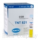 水中化學需氧量試劑 Chemical Oxygen Demand (COD) TNTplus Vial Test, LR (3-150 mg/L COD), 25 Tests
